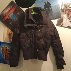 BABY PHAT BOMBER STYLE DOWN JACKET S